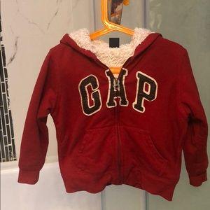 Gap toddler hoodie jacket size 5